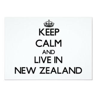 Guarde la calma y viva en Nueva Zelanda