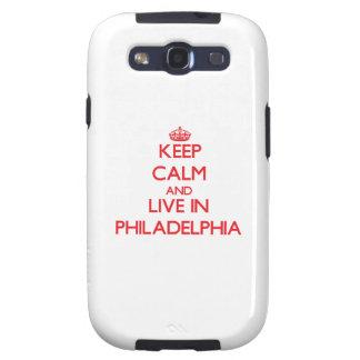 Guarde la calma y viva en Philadelphia Galaxy SIII Cobertura