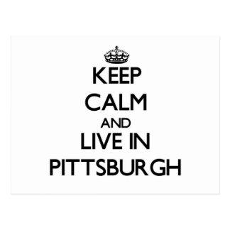 Guarde la calma y viva en Pittsburgh Postal