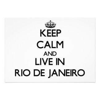 Guarde la calma y viva en Río de Janeiro