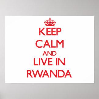 Guarde la calma y viva en Rwanda