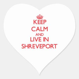 Guarde la calma y viva en Shreveport