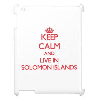 Guarde la calma y viva en Solomon Island