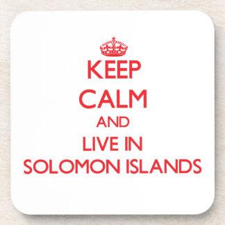 Guarde la calma y viva en Solomon Island Posavaso