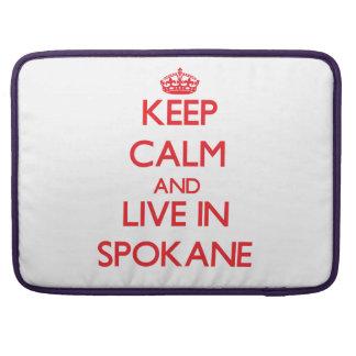 Guarde la calma y viva en Spokane