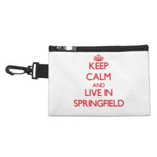 Guarde la calma y viva en Springfield