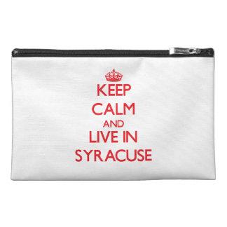 Guarde la calma y viva en Syracuse