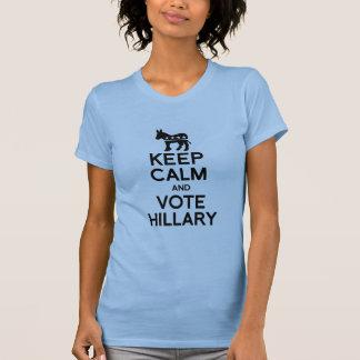 GUARDE LA CALMA Y VOTE A HILLARY