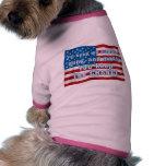 Guarde la camisa anti del perro de Obama del cambi Camisetas De Mascota