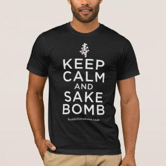Guarde la camisa de la bomba de la calma y del
