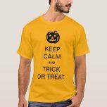 Guarde la camisa divertida de Halloween de la