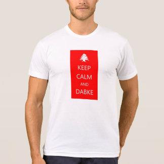 GUARDE la camiseta de la CALMA y de DABKE~ Líbano