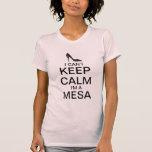 Guarde la camiseta del tacón alto de la calma el |