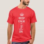 Guarde la camiseta tranquila del EL