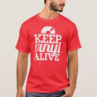 Guarde la camiseta viva del vinilo - DJ,