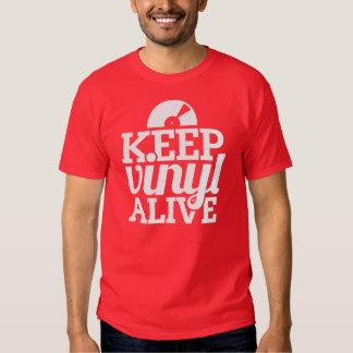 Guarde la camiseta viva del vinilo - DJ, Remeras
