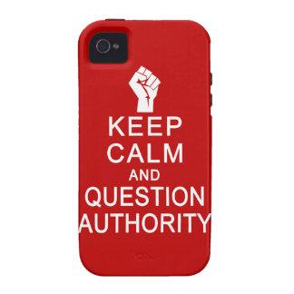 Guarde la casamata del iPhone 4 de la autoridad de Case-Mate iPhone 4 Funda