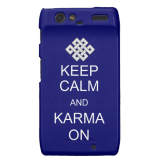 Guarde la casamata tranquila de las karmas para Ra Motorola Droid RAZR Carcasa