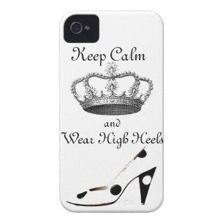 Guarde la corona tranquila carcasa para iPhone 4 de Case-Mate