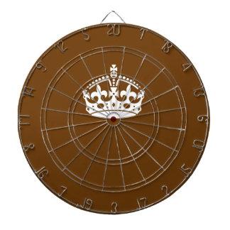 Guarde la corona tranquila en la decoración de