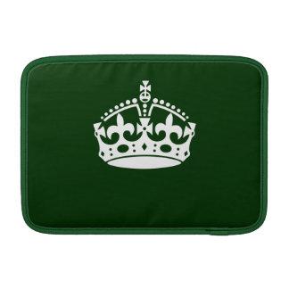¡GUARDE LA CORONA TRANQUILA en personalizar verde  Fundas MacBook