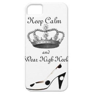 Guarde la corona tranquila funda para iPhone SE/5/5s