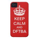Guarde la cubierta de la calma y del teléfono de D iPhone 4 Case-Mate Cárcasa