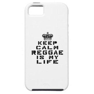 Guarde la danza tranquila del reggae es mi vida iPhone 5 carcasas