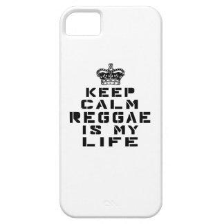 Guarde la danza tranquila del reggae es mi vida iPhone 5 funda