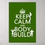 Guarde la estructura de la calma y de cuerpo (el f impresiones