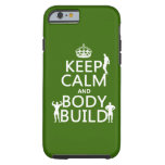 Guarde la estructura de la calma y de cuerpo (el funda de iPhone 6 tough