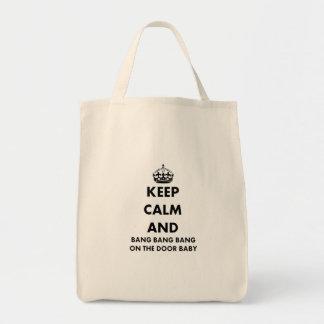 Guarde la explosión de la calma y de la explosión bolsas de mano