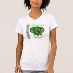 Guarde la fe - conciencia del linfoma camiseta