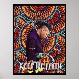 Guarde la fe póster