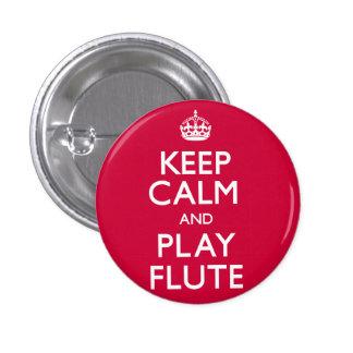 Guarde la flauta de la calma y del juego (continúe pins