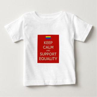 guarde la igualdad tranquila de la ayuda remeras