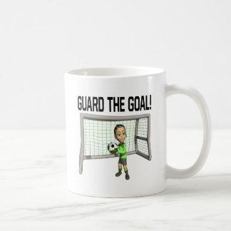 Guarde la meta tazas
