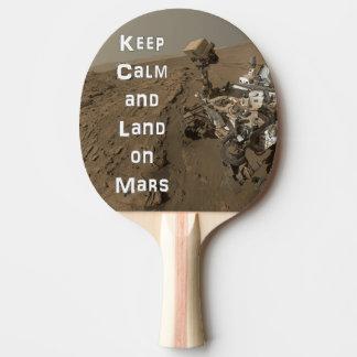Guarde la paleta tranquila del ping-pong de Marte Pala De Tenis De Mesa