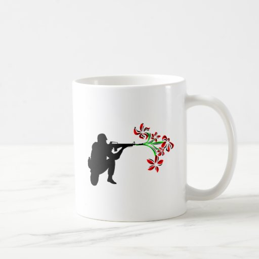 Guarde la paz tazas de café