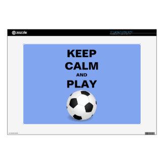 Guarde la piel del ordenador portátil del fútbol d portátil calcomanías