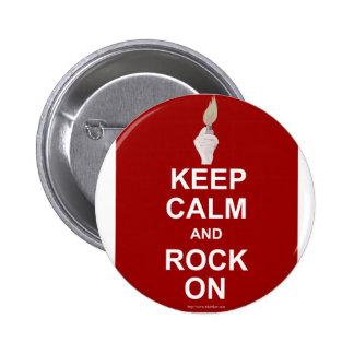 Guarde la roca tranquila encendido pin