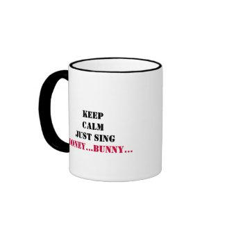 Guarde la taza tranquila