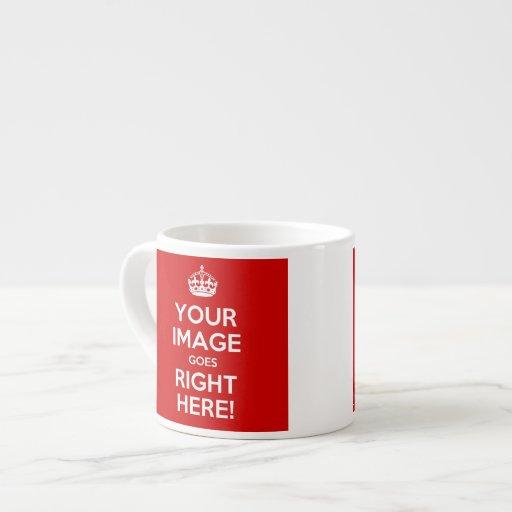 Guarde la taza tranquila del café express tazas espresso