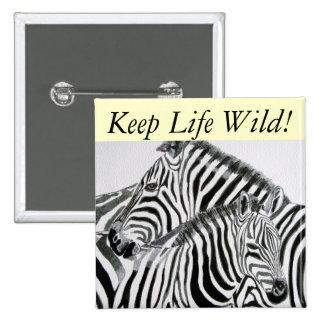 Guarde la vida Wild1 Pins