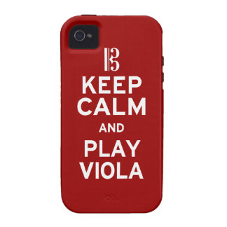 Guarde la viola de la calma y del juego iPhone 4 carcasa