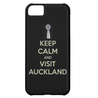 guarde la visita tranquila Auckland Funda iPhone 5C