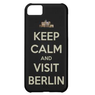guarde la visita tranquila Berlín Funda Para iPhone 5C