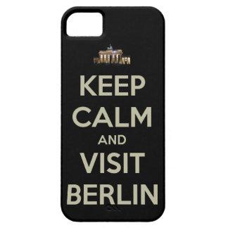guarde la visita tranquila Berlín iPhone 5 Carcasas