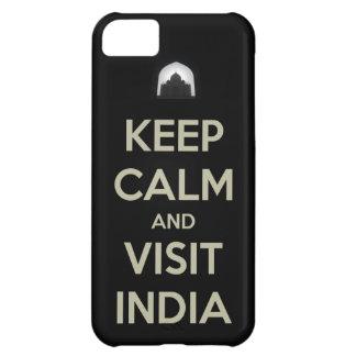 guarde la visita tranquila la India Funda Para iPhone 5C