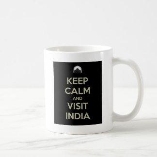 guarde la visita tranquila la India Taza